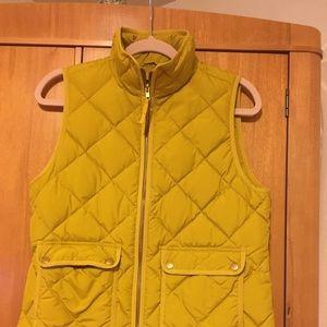 Gently worn quilted vest